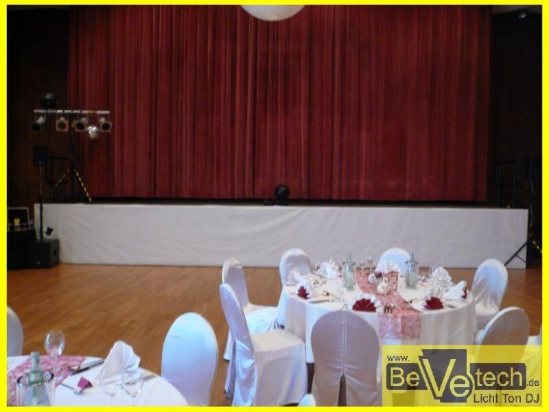 2014 06 06 Hochzeit Bismarkhalle Siegen Weidenau Bevetech Veranstaltungstechnik Licht Ton Dj