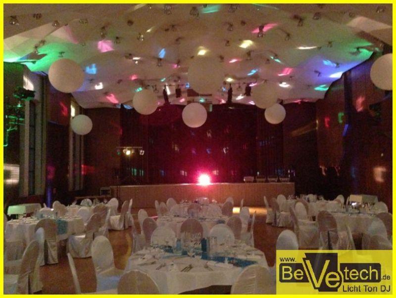 2013 Hochzeiten Bevetech Veranstaltungstechnik Licht Ton Dj